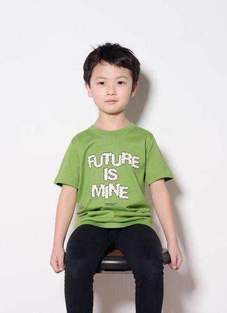 Kids UNDERCOVER UC1A5802 Tee - Light Green