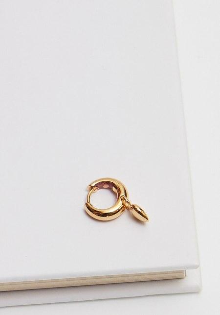 Maria Black Aya Huggie earring - Gold