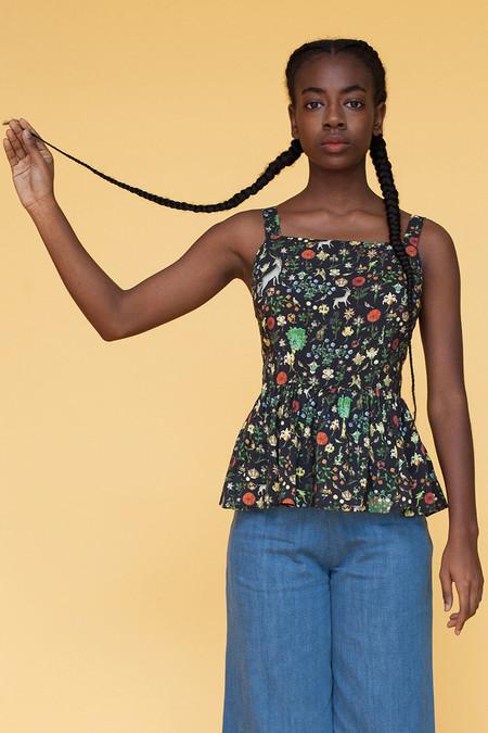 Samantha Pleet Tapestry Blouse