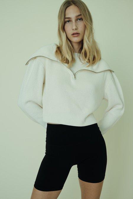 Parentezi Half Zip Double Sweater