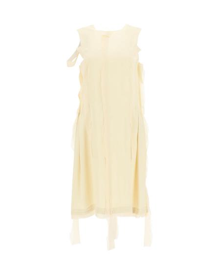 MM6 Maison Margiela Deconstructed Dress - Beige