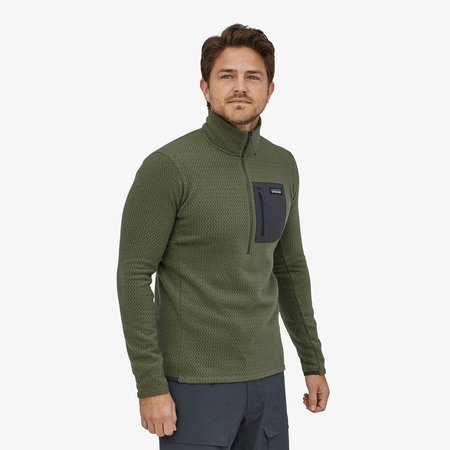Patagonia Men's R1 Air Zip-Neck jacket - Black