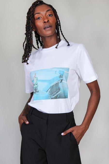 Tibi Gnome Easy T Shirt - White