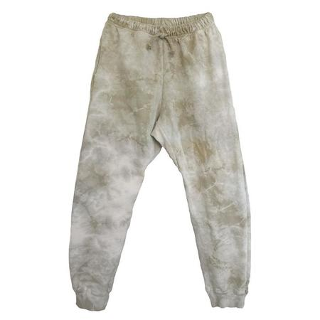Nico Nico Woman Biel Fleece Harem Sweatpants - Tie Dye Beige