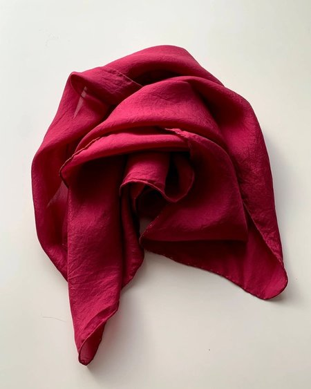 Studio Mish Mish 40' Grande Botanical Dyed Silk Scarf