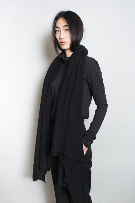Scarf Shop Wool Cloud Scarf - Soot