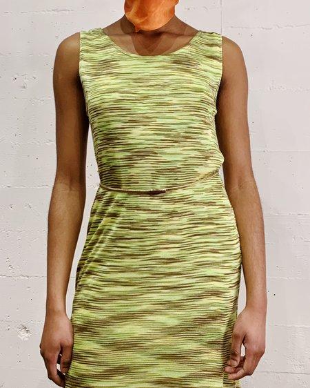 Vintage Missoni Knit Dress - Lime