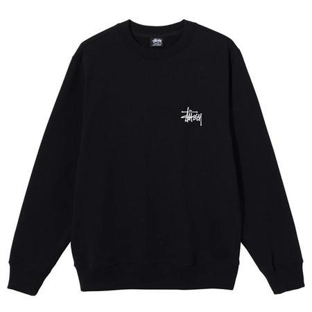 Stussy Basic Stussy Crew sweater - Black