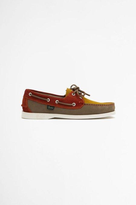 Paraboot Barth velour sneakers - sable/orange/yellow