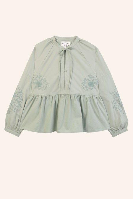 Meadows Abelia Shirt - Sage