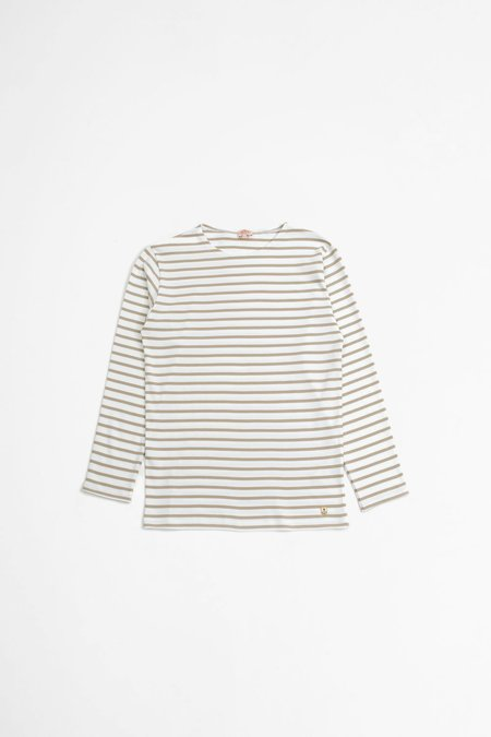 Armor Lux Sailor t-shirt - Houat white/flax beige