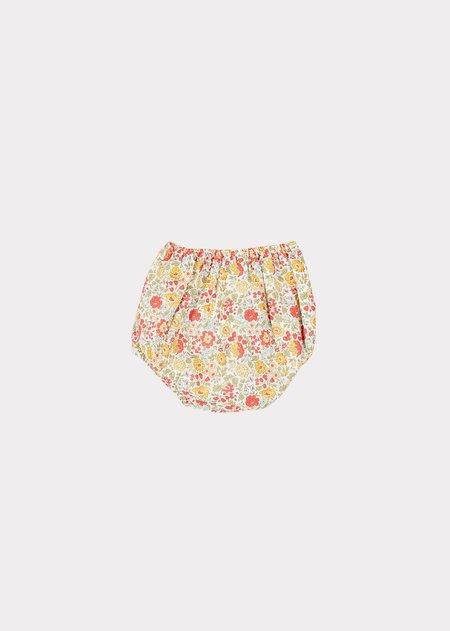 kids Caramel Velvet Crab Baby Swim Bloomer - Danjo Yellow