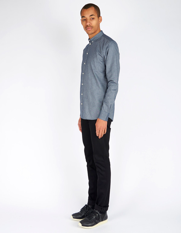 Minimum Chris Shirt Light Navy