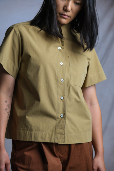Studio Nicholson Capuchin Shirt - Almond