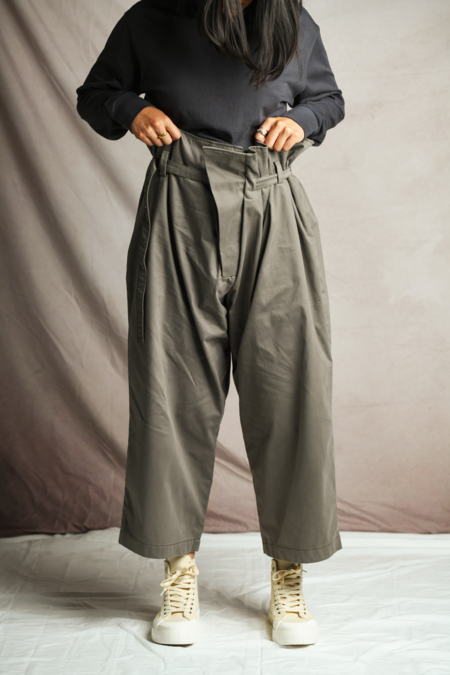 Xenia Telunts The Cotton Pant - Brown