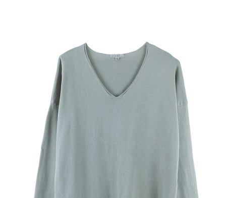 It Is Well L.A. V Neck Sweater