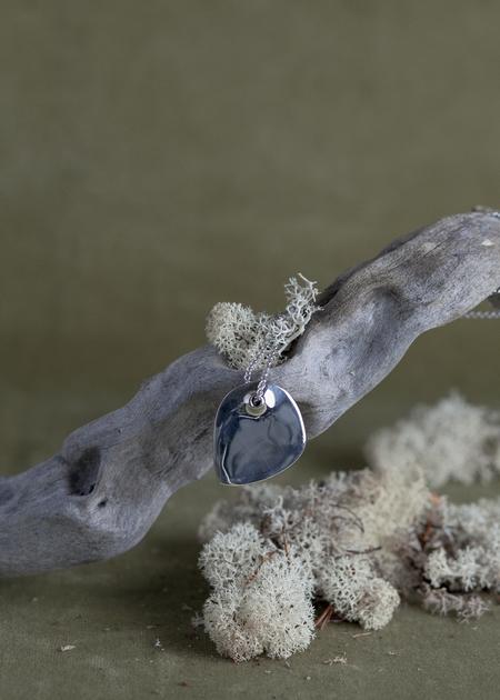 Quarry Petite Moore Necklace - White Bronze