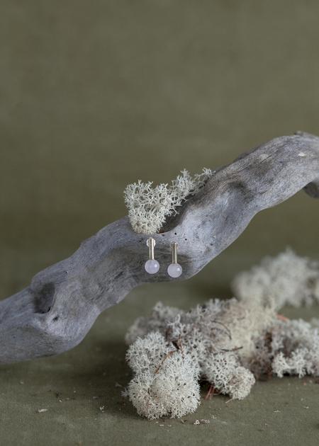 Quarry Roos Earrings - Brass