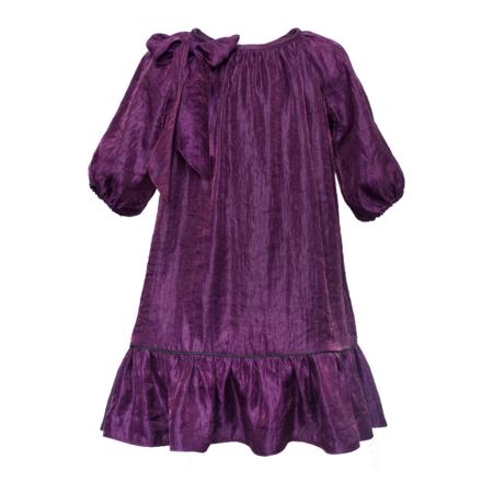 kids paade mode mira dress - purple