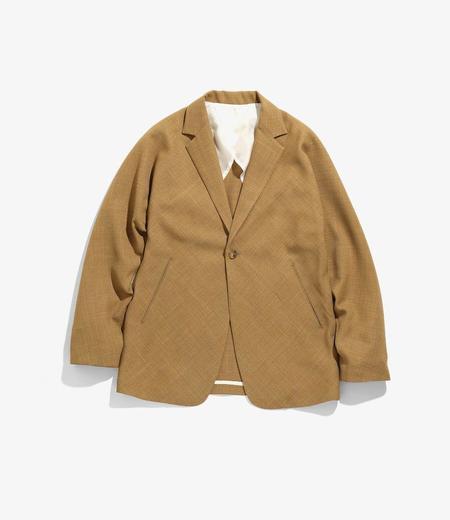 Needles Miles Jacket Dobby Twill jacket - Camel