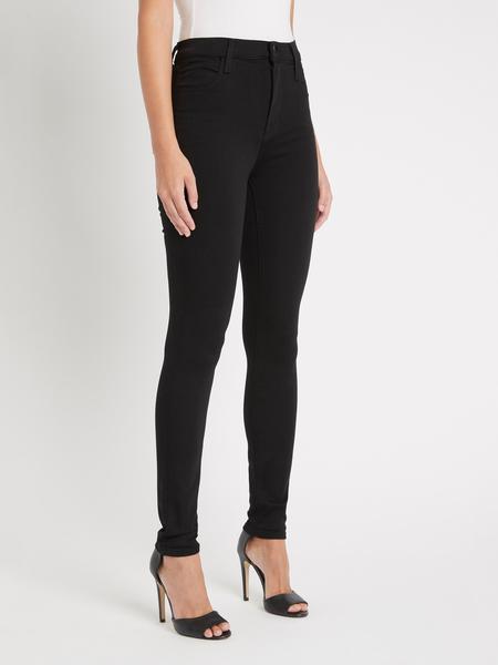 J Brand Maria High Rise Skinny Jean - Eco Seriously Black