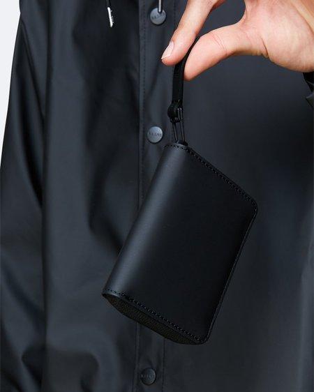 Unisex Rains Cartera Small Wallet - Black