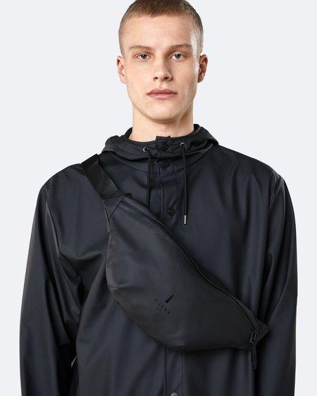 Unisex Rains Riñonera Bum Bag - Black