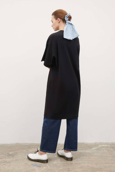 Kowtow Bow Print Dress - Black