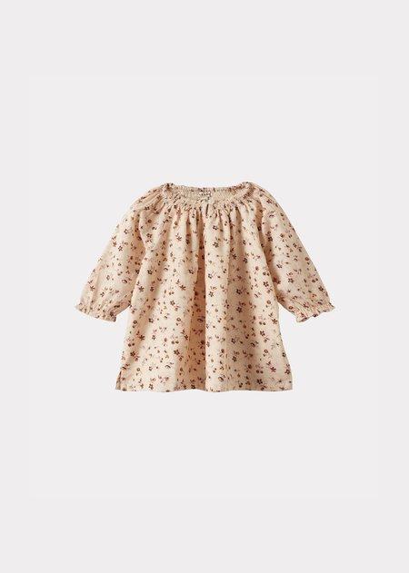 kids Caramel Arowana Baby Dress - Ditsy Floral Print