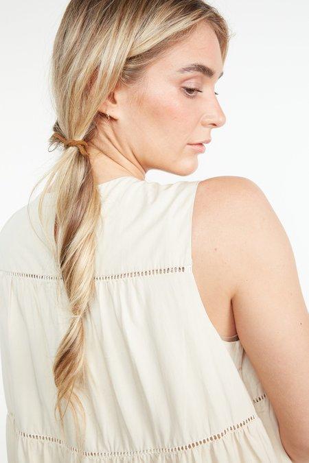 THE ODELLS Aurora Dress - COCONUT MILK