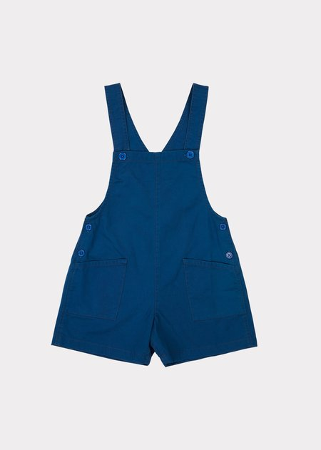 kids Caramel Seal Dungaree - Blue