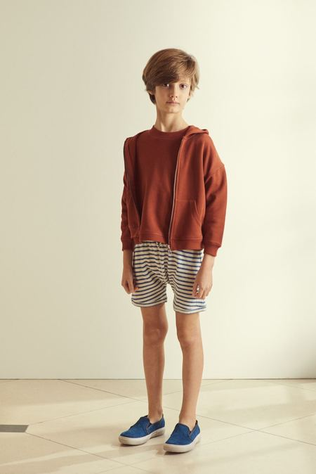 Kids Caramel Manatee Sweatshirt - Burgundy