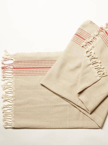 Oddbird Redline Handwoven Turkish Towel
