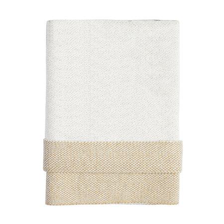 kids moon babe blankets Gemini Babe Blanket - ivory/light grey/ochre