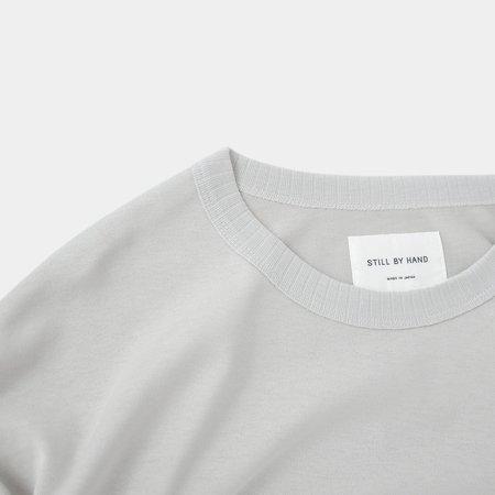 Still By Hand Light Weight Sweat Shirt - Grey