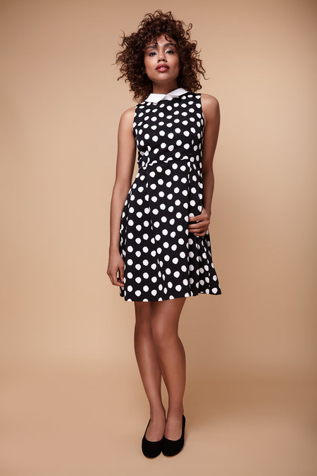 Amanda Moss  Polka Dot Dress
