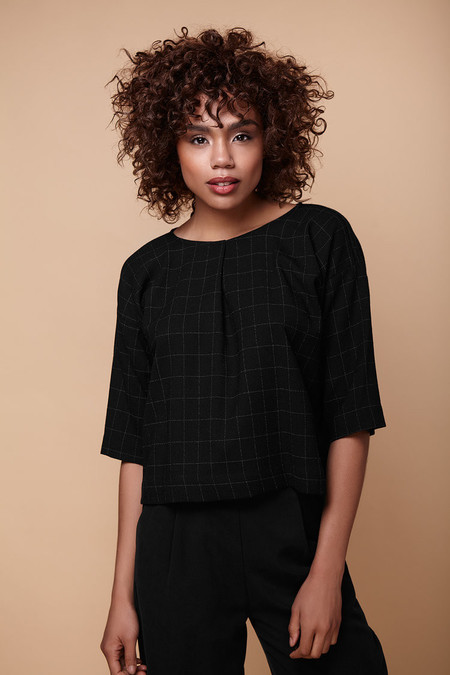 Amanda Moss - Townie Shirt (Windowpane)