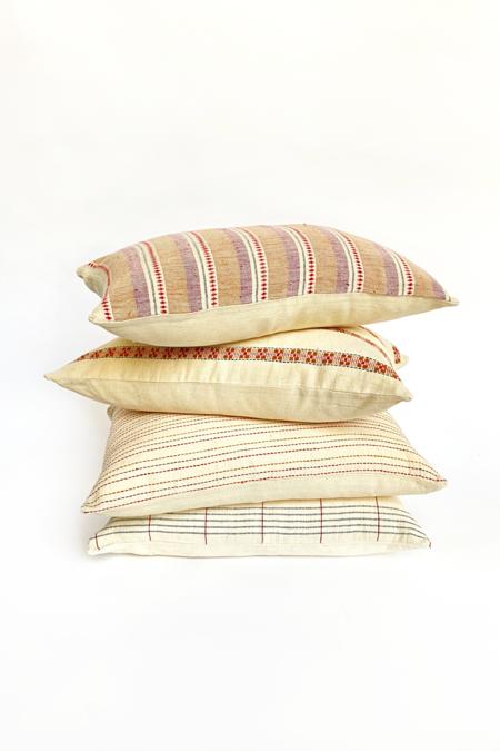 Sarojini Organic Handwoven Pillow