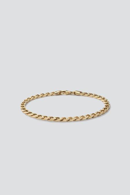 Miansai Cuban Chain Bracelet - Gold Vermeil