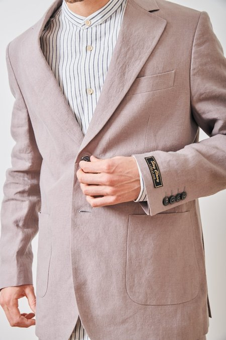 A Kind of Guise Relaxed Notch Blazer - BEIGE