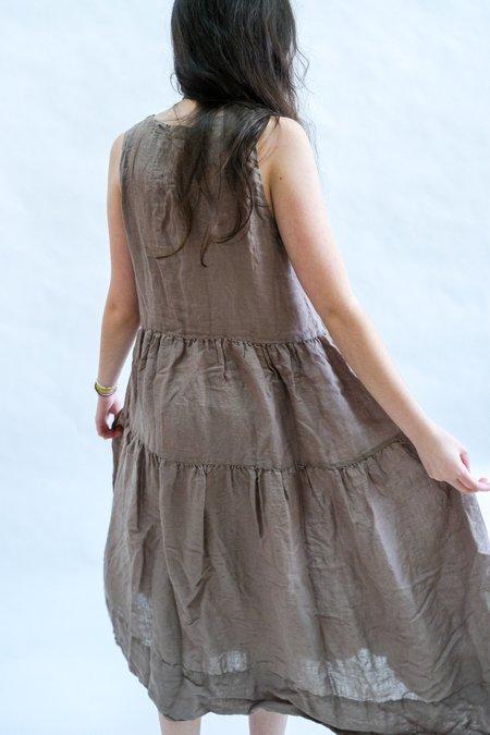 CP SHADES Gia Linen Dress - Mushroom