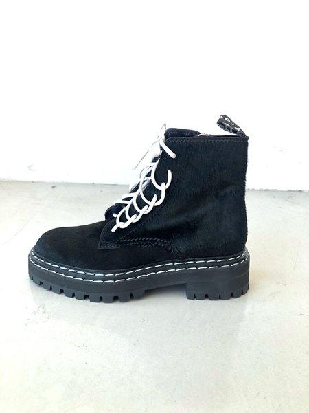 Proenza Schouler Kebir Lace-Front Boots
