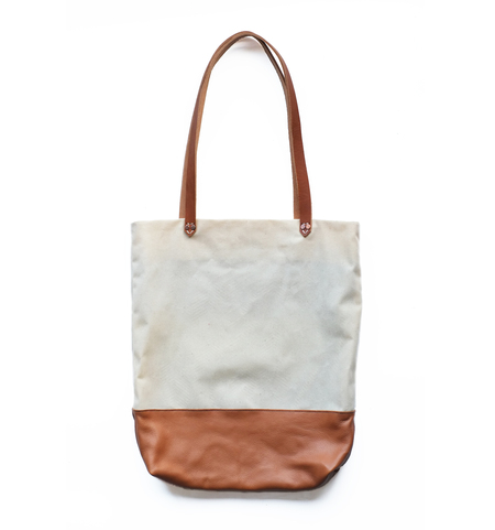 AW by Andrea Wong BAGUETTE BAG - NATURAL/CARAMEL