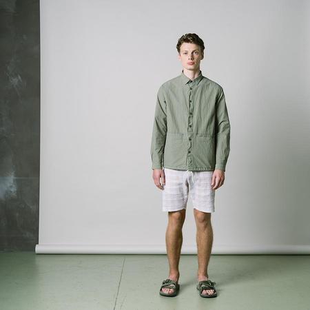 Kestin Armadale Shirt Jacket - Light Olive Cotton/Nylon