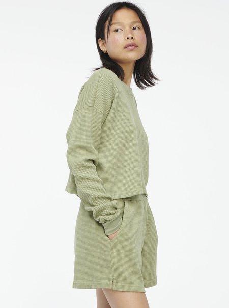 Lacausa Dakota Thermal Shorts - Aloe