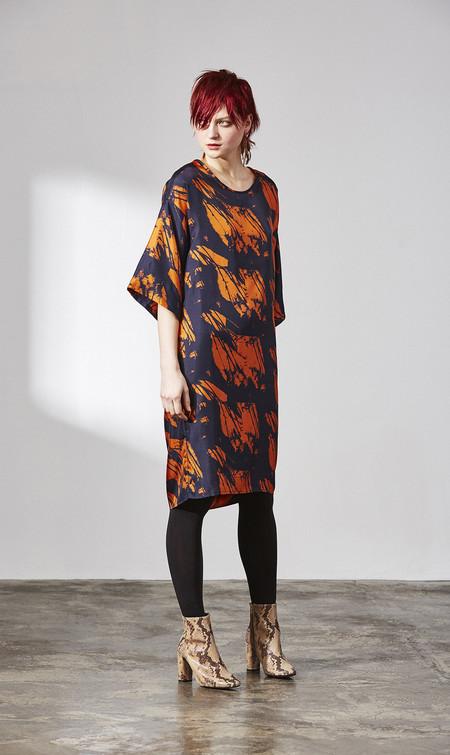 H. Fredriksson W 15 Alex Dress Rust Shadow