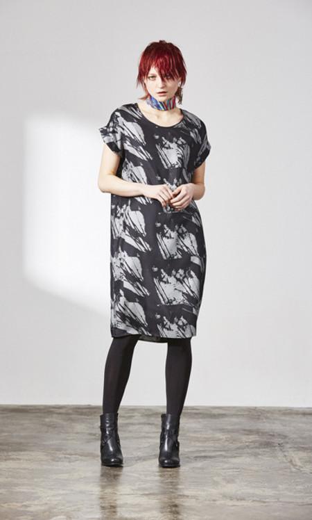 H. Fredriksson W 15 Box Dress Grey Shadow