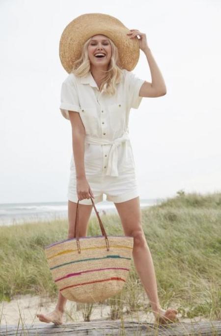Mar Y Sol Cielo Shoulder Bag - Natural