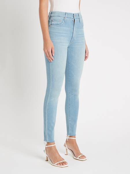 Mother Denim The Looker Ankle Fray Jean - Hold My Hand