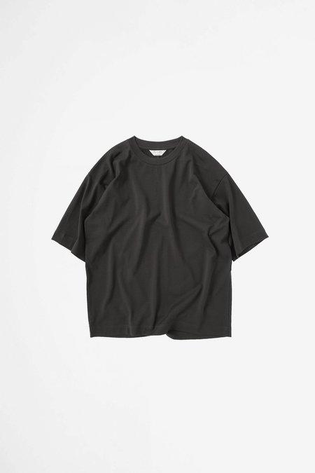 Still By Hand Yoke seam t-shirt - charcoal